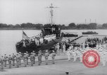 Image of President Roosevelt presents a Patrol Craft (USS P-622) to Greece Washington DC USA, 1944, second 11 stock footage video 65675028525