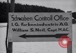 Image of IG Farben plant Ebenhausen Germany, 1945, second 9 stock footage video 65675028530