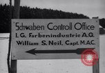 Image of IG Farben plant Ebenhausen Germany, 1945, second 11 stock footage video 65675028530