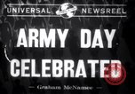 Image of Army Day celebration Washington DC USA, 1941, second 1 stock footage video 65675028536