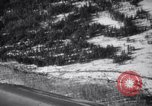 Image of snow covered area British Columbia, 1941, second 9 stock footage video 65675028539