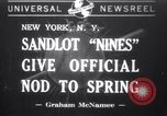 Image of children New York United States USA, 1941, second 1 stock footage video 65675028547