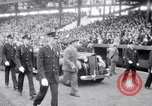 Image of President Franklin Roosevelt attends opening day baseball game Washington DC USA, 1941, second 4 stock footage video 65675028552
