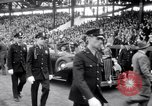 Image of President Franklin Roosevelt attends opening day baseball game Washington DC USA, 1941, second 5 stock footage video 65675028552