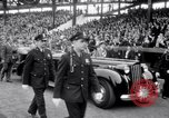Image of President Franklin Roosevelt attends opening day baseball game Washington DC USA, 1941, second 6 stock footage video 65675028552