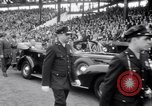 Image of President Franklin Roosevelt attends opening day baseball game Washington DC USA, 1941, second 7 stock footage video 65675028552