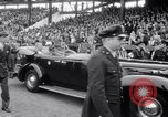 Image of President Franklin Roosevelt attends opening day baseball game Washington DC USA, 1941, second 8 stock footage video 65675028552