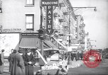 Image of Street scene in Little Italy New York City USA, 1941, second 2 stock footage video 65675028562