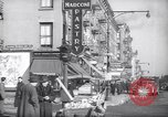 Image of Street scene in Little Italy New York City USA, 1941, second 3 stock footage video 65675028562