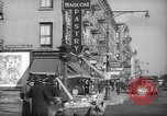 Image of Street scene in Little Italy New York City USA, 1941, second 8 stock footage video 65675028562