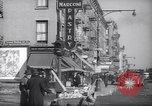 Image of Street scene in Little Italy New York City USA, 1941, second 9 stock footage video 65675028562