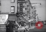 Image of Street scene in Little Italy New York City USA, 1941, second 10 stock footage video 65675028562