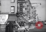 Image of Street scene in Little Italy New York City USA, 1941, second 11 stock footage video 65675028562