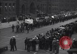 Image of demonstration by Communists New York City USA, 1932, second 2 stock footage video 65675028563