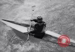 Image of slalom race Austria, 1965, second 11 stock footage video 65675028596
