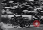 Image of motorcycle race Germany, 1965, second 8 stock footage video 65675028597