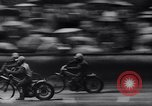 Image of motorcycle race Germany, 1965, second 9 stock footage video 65675028597
