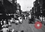 Image of Busy street in a city India, 1953, second 8 stock footage video 65675028598