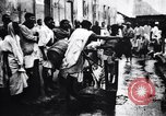 Image of Indian men preparing Temple offerings Calcutta India, 1953, second 8 stock footage video 65675028602