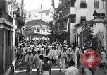 Image of riots in city Bombay India, 1946, second 7 stock footage video 65675028620