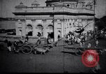 Image of Approach to the Old Howrah  bridge  Calcutta India, 1929, second 6 stock footage video 65675028626