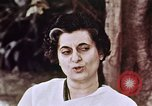 Image of Indira Gandhi India, 1965, second 9 stock footage video 65675028645