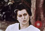 Image of Indira Gandhi India, 1965, second 12 stock footage video 65675028645