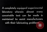 Image of lubricating oil Indiana United States USA, 1926, second 1 stock footage video 65675028681