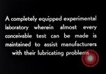 Image of lubricating oil Indiana United States USA, 1926, second 2 stock footage video 65675028681