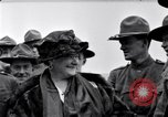 Image of Famous Woman with US Army soldiers United States USA, 1920, second 2 stock footage video 65675028692