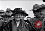 Image of Famous Woman with US Army soldiers United States USA, 1920, second 3 stock footage video 65675028692