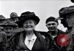 Image of Famous Woman with US Army soldiers United States USA, 1920, second 5 stock footage video 65675028692