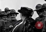 Image of Famous Woman with US Army soldiers United States USA, 1920, second 7 stock footage video 65675028692