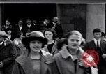 Image of Albion College inaugural ceremony Albion Michigan USA, 1920, second 1 stock footage video 65675028693