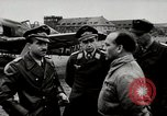 Image of Adolf Galland General Der Jagdfleiger visits AFB Berlin-Staaken Germany, 1944, second 1 stock footage video 65675028706