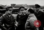 Image of Adolf Galland General Der Jagdfleiger visits AFB Berlin-Staaken Germany, 1944, second 3 stock footage video 65675028706
