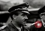 Image of Adolf Galland General Der Jagdfleiger visits AFB Berlin-Staaken Germany, 1944, second 4 stock footage video 65675028706
