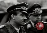 Image of Adolf Galland General Der Jagdfleiger visits AFB Berlin-Staaken Germany, 1944, second 5 stock footage video 65675028706