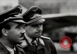 Image of Adolf Galland General Der Jagdfleiger visits AFB Berlin-Staaken Germany, 1944, second 7 stock footage video 65675028706