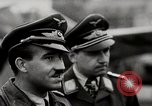 Image of Adolf Galland General Der Jagdfleiger visits AFB Berlin-Staaken Germany, 1944, second 8 stock footage video 65675028706