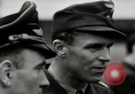Image of Adolf Galland General Der Jagdfleiger visits AFB Berlin-Staaken Germany, 1944, second 9 stock footage video 65675028706