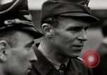 Image of Adolf Galland General Der Jagdfleiger visits AFB Berlin-Staaken Germany, 1944, second 11 stock footage video 65675028706