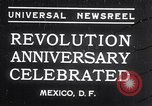 Image of Mexican athletes on Mexican Revolution Anniversary Mexico, 1934, second 1 stock footage video 65675028709