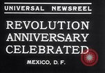 Image of Mexican athletes on Mexican Revolution Anniversary Mexico, 1934, second 2 stock footage video 65675028709