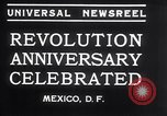 Image of Mexican athletes on Mexican Revolution Anniversary Mexico, 1934, second 6 stock footage video 65675028709