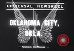 Image of Transport plane debris at crash site Oklahoma City Oklahoma USA, 1939, second 2 stock footage video 65675028723