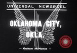Image of Transport plane debris at crash site Oklahoma City Oklahoma USA, 1939, second 4 stock footage video 65675028723