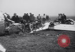 Image of Transport plane debris at crash site Oklahoma City Oklahoma USA, 1939, second 11 stock footage video 65675028723