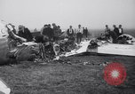 Image of Transport plane debris at crash site Oklahoma City Oklahoma USA, 1939, second 12 stock footage video 65675028723