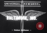 Image of Boeing-314 Yankee Clipper Baltimore Maryland USA, 1939, second 1 stock footage video 65675028725